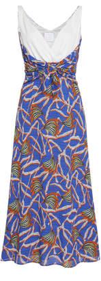 Stella Jean Sleeveless Midi Dress