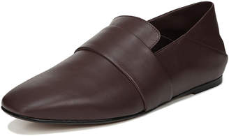 Vince Harris Leather Flat Loafers