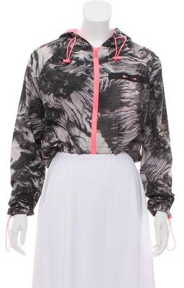 The Upside Abstract Crop Jacket