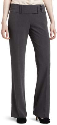 My Michelle Juniors Wide Waist Band 3 Button Tab Pant