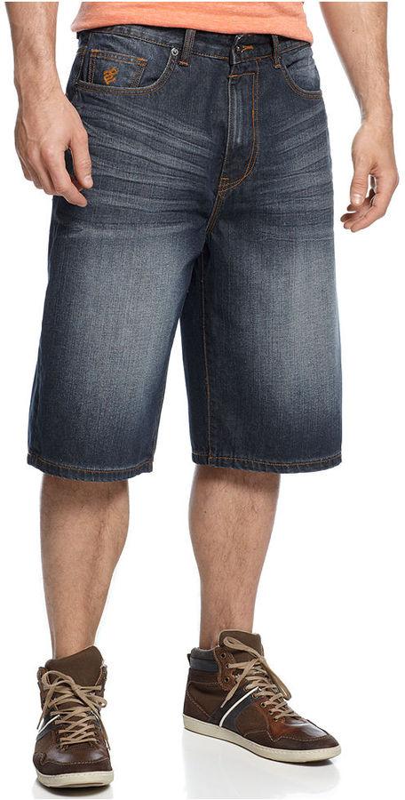 Rocawear Shorts, Dark Wash Denim Shorts
