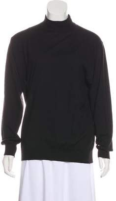 Gran Sasso Semi-Sheer Cashmere Sweater