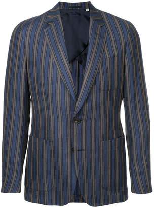 Gieves & Hawkes stripe fitted blazer