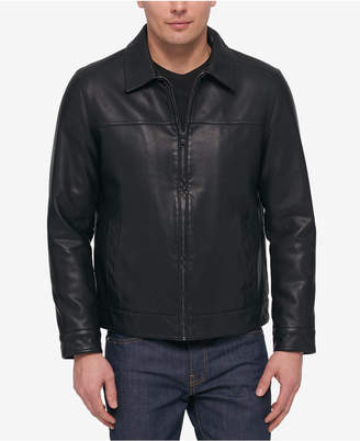Tommy Hilfiger Men's Faux-Leather Jacket, Created for Macy's