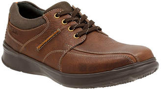 Clarks Cotrell Walk Mens Leather Lace-Up Shoes