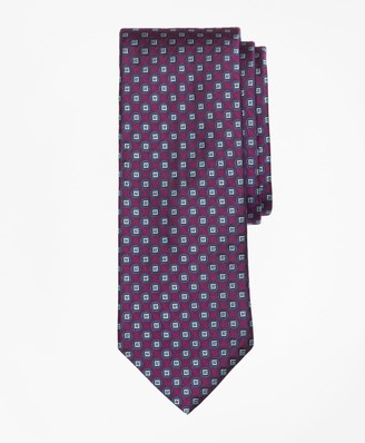 Brooks Brothers Squares and Polka Dots Tie