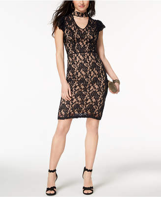 XOXO Juniors' Lace Bodycon Dress