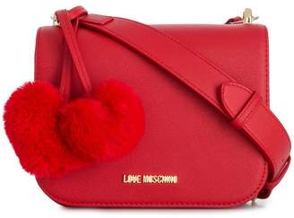 Love Moschino hearts embellished crossbody bag