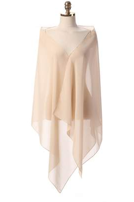 HotDresses Hot Dresses Chiffon Bridal Evening Scarves Wraps Shawls for Bridesmaid Prom Wedding