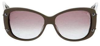 Marc by Marc Jacobs Oversize Butterfly Sunglasses