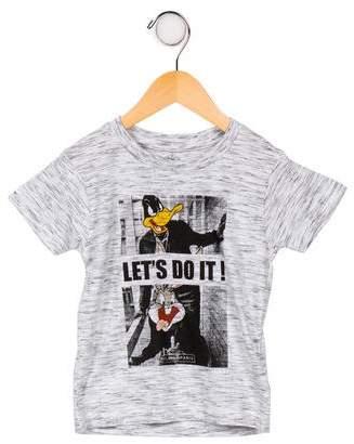 Little Eleven Paris Boys' Graphic T-Shirt w/ Tags