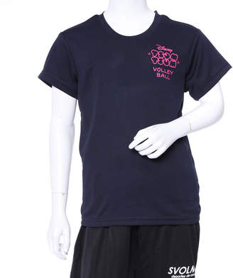 Disney (ディズニー) - ディズニー Disney ジュニア バレーボール 半袖Tシャツ DN-8VW4008TSTM DN-8VW4008TSTM