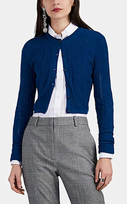 Altuzarra Women's Cygnet Cotton Crop Cardigan - Navy