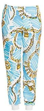 Moschino Women's Chain Link Trousers