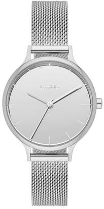 Skagen Women's Anita Analog Quartz Mesh Bracelet Watch, 30mm