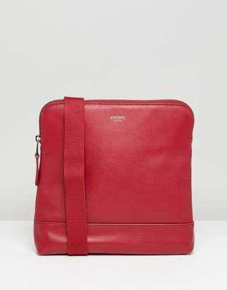 Knomo London Leather Acoss Body Bag