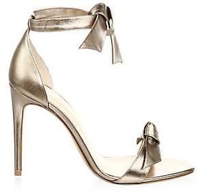 Alexandre Birman Women's Clarita Metallic Leather Sandals