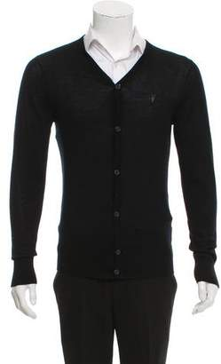 AllSaints Merino Wool Cardigan