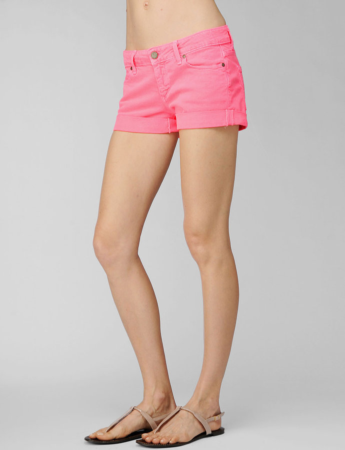 Paige Jimmy Jimmy Short - Electric Pink
