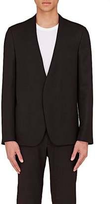 Maison Margiela Men's Wool Collarless Open-Front Sportcoat $995 thestylecure.com