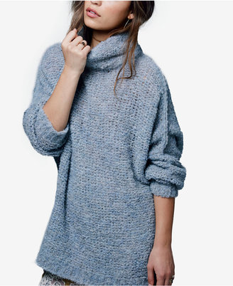 Free People She's All That Funnel-Neck Sweater $128 thestylecure.com