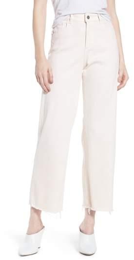Hepburn Ankle Wide Leg Jeans