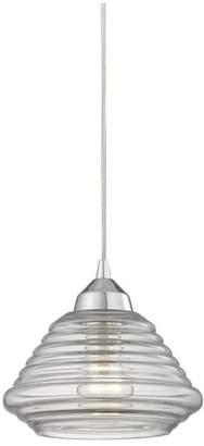 Elk Lighting Orbital 1-Light School House Pendant Lighting