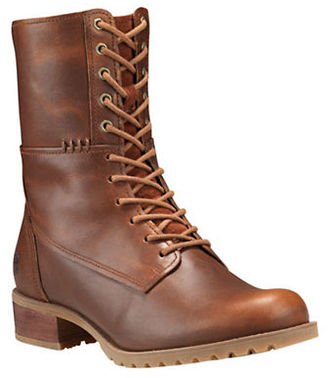 Timberland Banfield Mid Lace Leather Boots $200 thestylecure.com