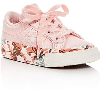 Converse Girls' One Star Storm Lace Up Sneakers - Walker, Toddler, Little Kid
