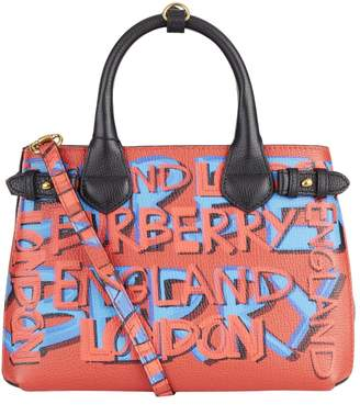Burberry Small Graffiti Print Banner Bag