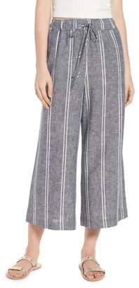 BP Stripe Linen Blend Culottes
