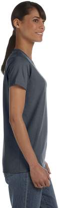 Gildan 5000L - Missy Fit Ladies T-Shirt Heavy Cotton - First Quality --Large