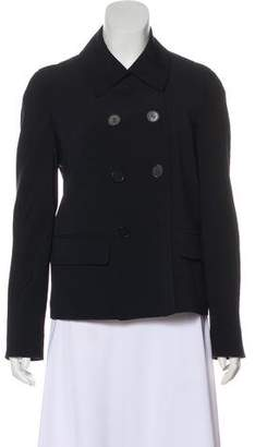 Isaac Mizrahi Wool Double-Breasted Coat