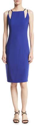 Elie Tahari Adelia Neck-Cutout Sheath Dress