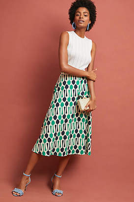 Eva Franco Whimsy Midi Skirt