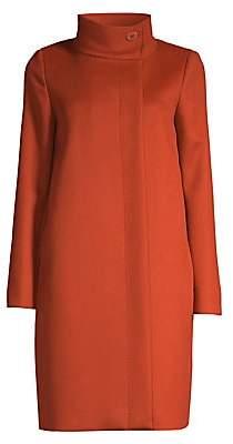 Max Mara Women's Frutto Wool & Cashmere Button Coat - Size 0