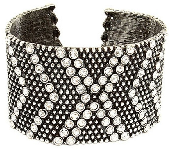 Tryst Style Crystal Studded Cuff