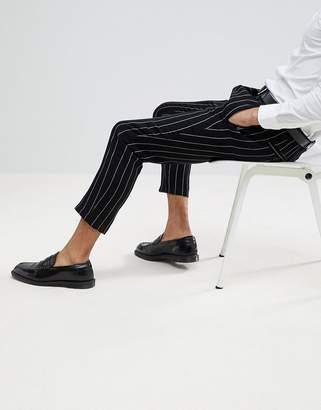 Devils Advocate Devil's Advocate Pinstripe Cropped Pants