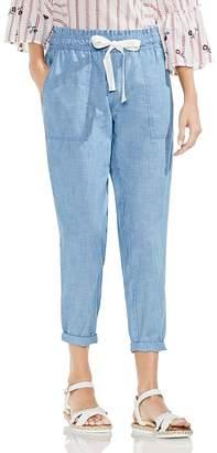 Vince Camuto Chambray Drawstring Pants