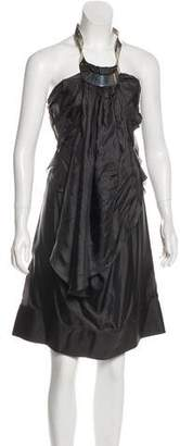 Celine Silk Mini Dress