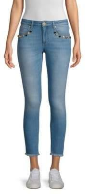 Escada Sport Raw Hem Skinny Jeans
