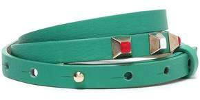 Maje Studded Leather Belt