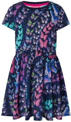 Monsoon Girls Children Multi Echo Dress - Natural
