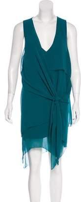 Kimberly Ovitz Sleeveless Knee-Length Dress