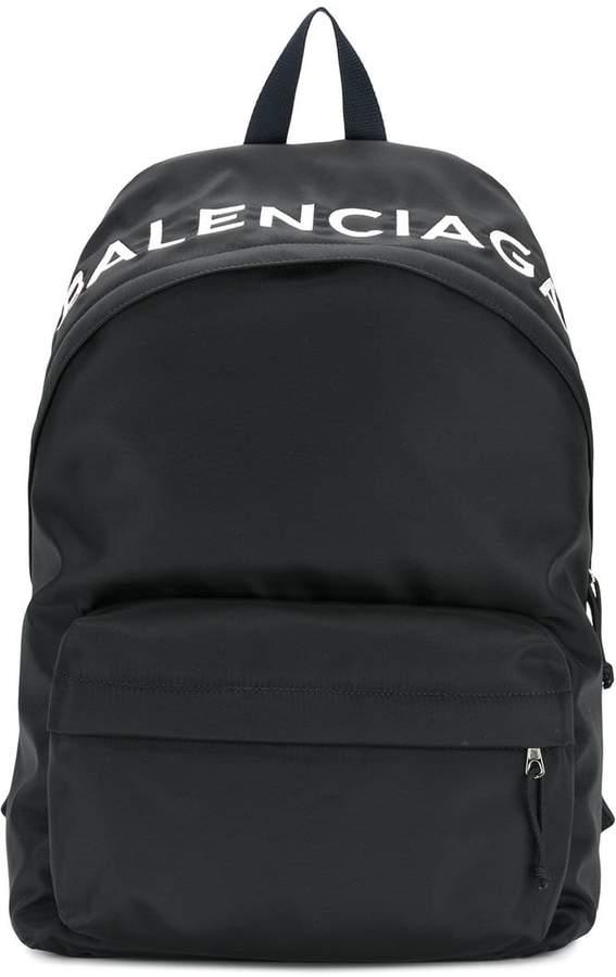 Balenciaga Bal Wheel Backpack