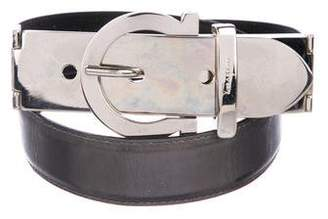 Salvatore Ferragamo Gancini Metallic Belt