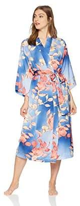 "Natori N Women's Ombre Floral Robe 49"""