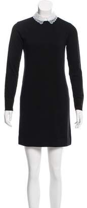 Burberry Knit Collared Dress