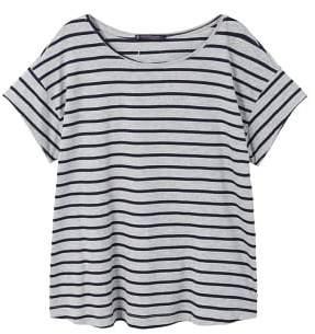 Violeta BY MANGO Essential cotton-blend t-shirt