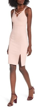 Women's Soprano Strappy Body-Con Dress $49 thestylecure.com